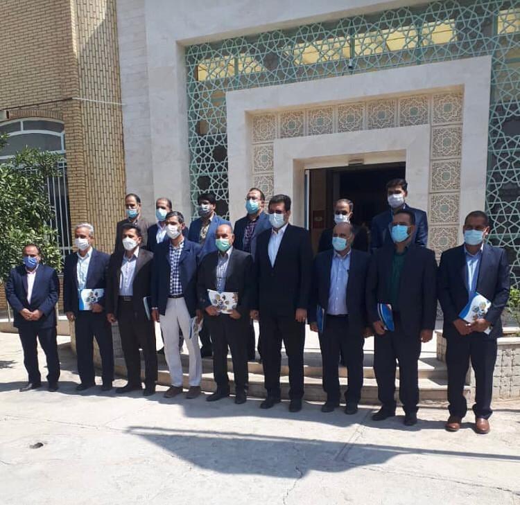 آیین تحلیف شورای ششم شهر حمیدیا برگزار شد