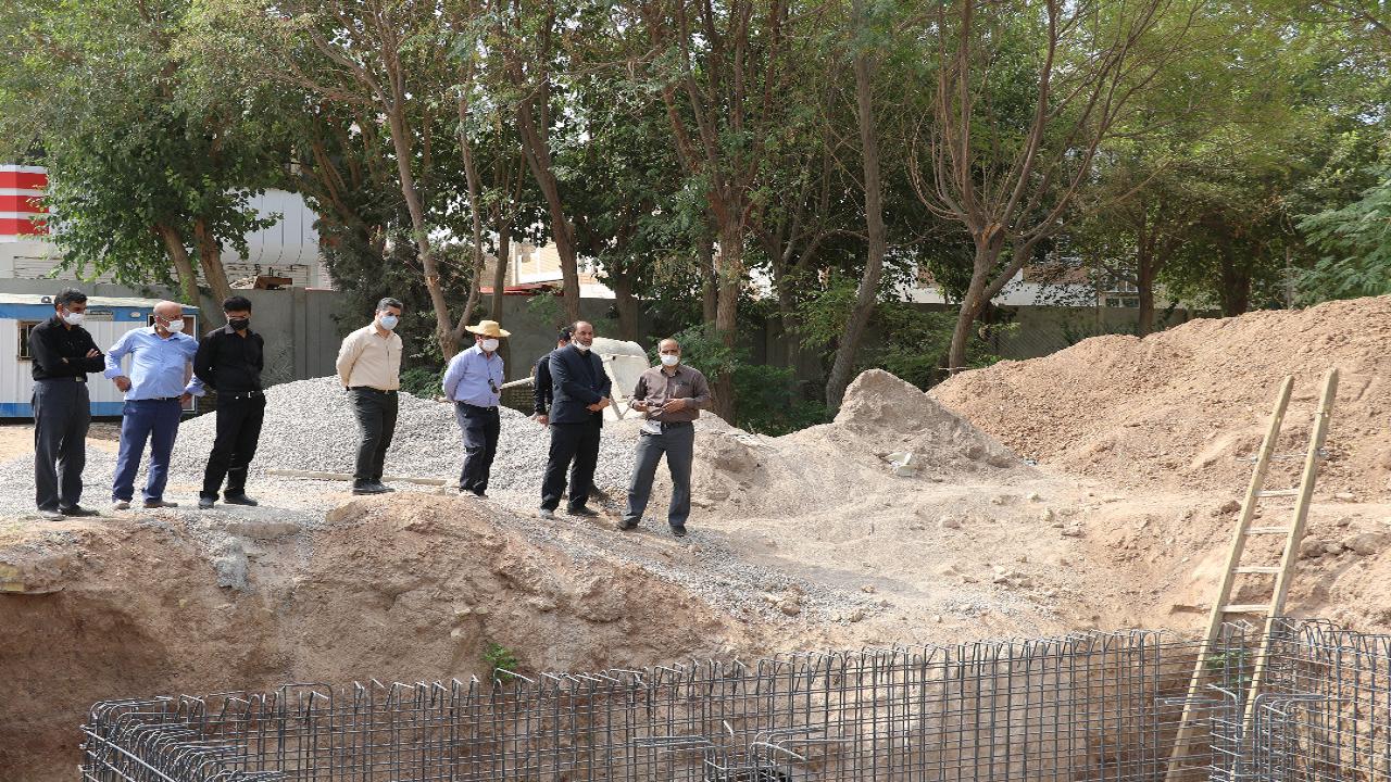 بازدید شهردار حمیدیا از پروژه های عمرانی در دست اقدام این شهر